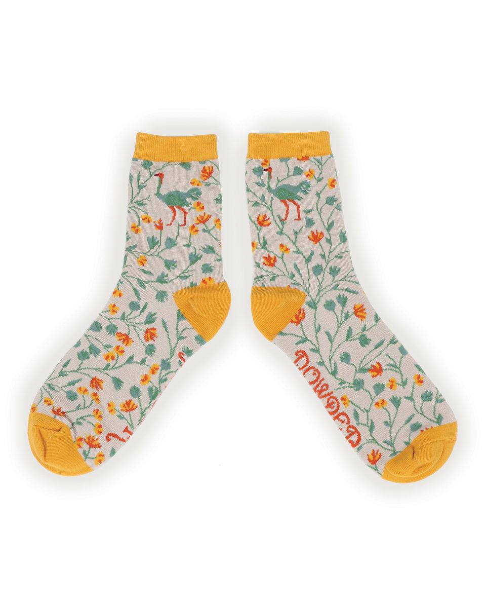 Ostrich bamboo socks (women's) 1