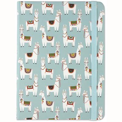 Llama lined journal 1