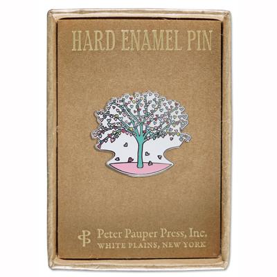 Tree of Hearts enamel pin 2