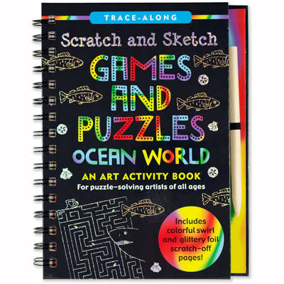 Scratch and sketch games and puzzles 1