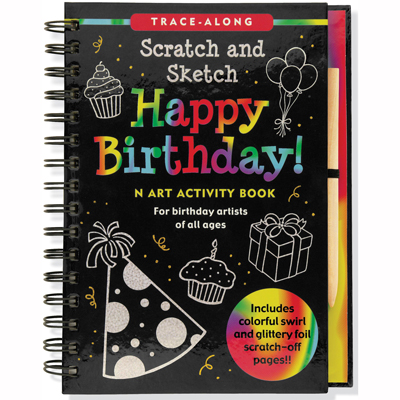 Scratch and sketch Happy Birthday! 1