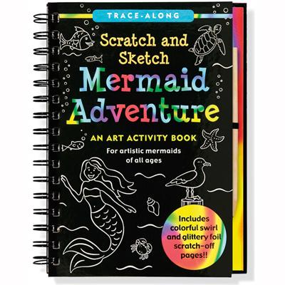 Scratch and sketch mermaid adventures 1