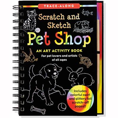 Scratch and sketch pet shop 1