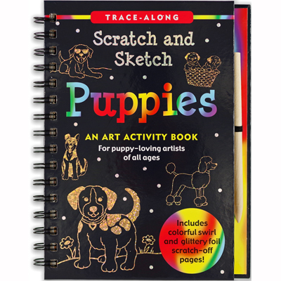 Scratch and sketch puppies 1