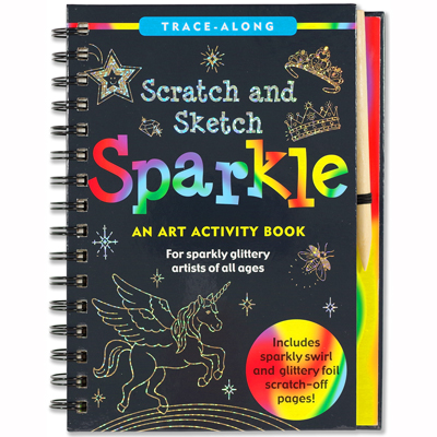 Scratch and sketch Sparkle 1