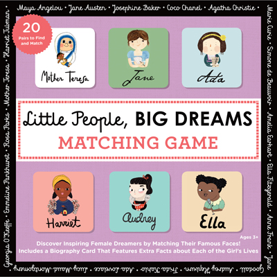 Little People, BIG DREAMS Matching Game 1