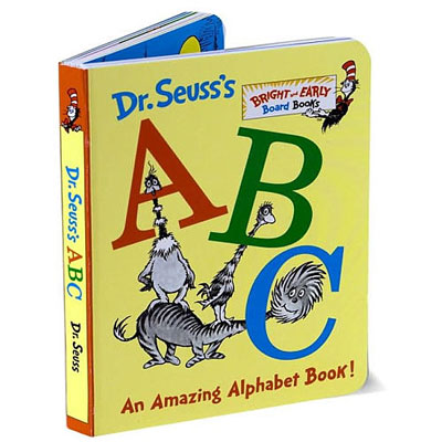 Dr. Seuss's ABC An Amazing Alphabet board book 1