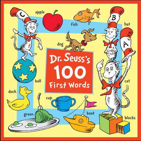 Dr. Seuss's 100 First Words board book 1