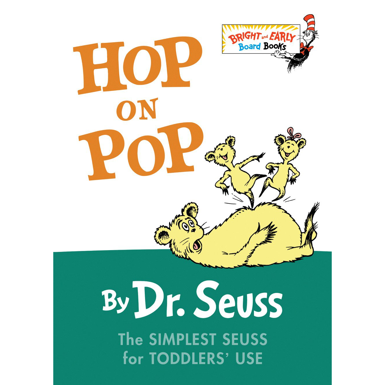 Hop on Pop board book Dr. Seuss 1