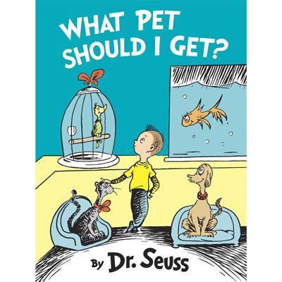 What Pet should I get by Dr. Seuss 1