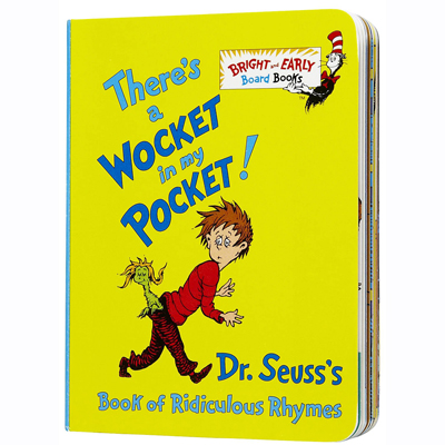 There's a Wocket in my Pocket! (board book) 1