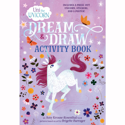 Uni the Unicorn Dream & Draw Activity Book 1