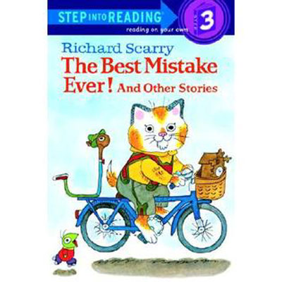 The Best Mistake Ever! step into reading 3 1