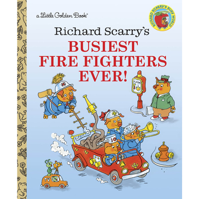 Richard Scarry's Busiest Fire Fighters ever! 1