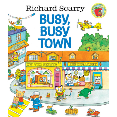 Richard Scarry's Busy, Busy Town 1
