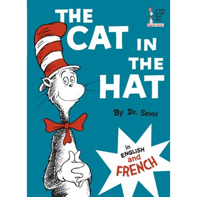 The Cat in the Hat in English & French 1