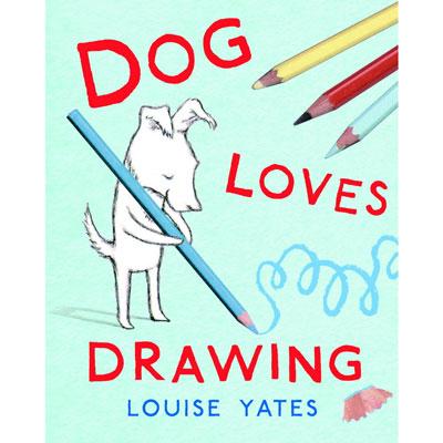 Dog Loves Drawing 1