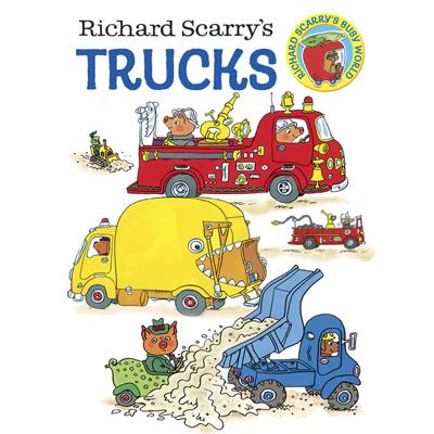 Richard Scarry's Trucks (board book) 1