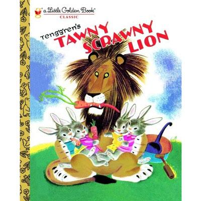 Tawny Scrawny Lion 1