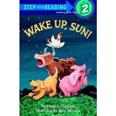 Wake Up Sun! step into reading 2 1