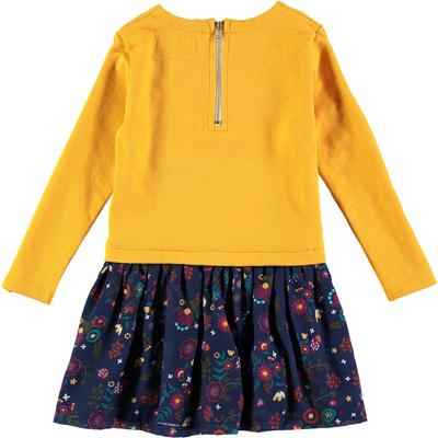 Gold Jude floral dress 2