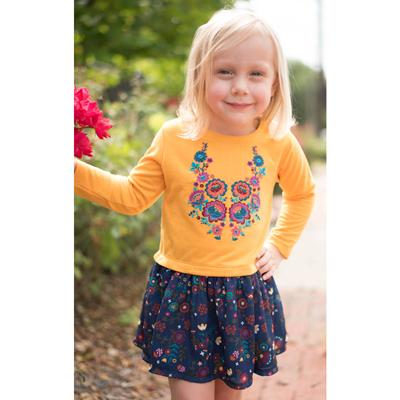 Gold Jude floral dress 3