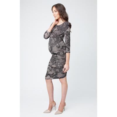 Chantilly cross your heart maternity dress 2