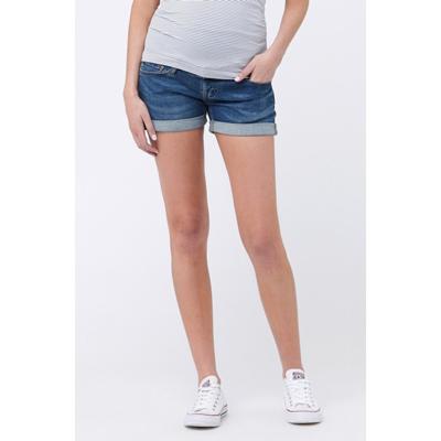 Denim maternity shorts 3