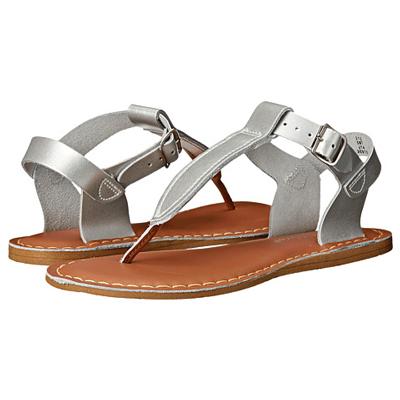 Salt Walter Silver Thong Sandal 1