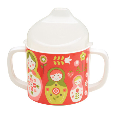Matryoshka doll sippy cup 1