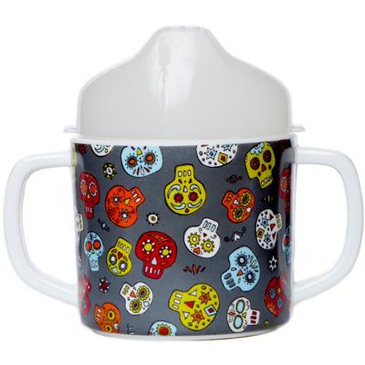 Dia de los Muertos sippy cup 1