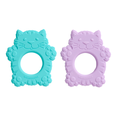 Fluffy the cat teethers (set of 2) 1