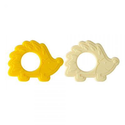 Hedgehog silicone teethers 1