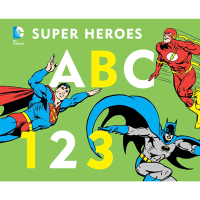DC Super Heroes ABC 123 1