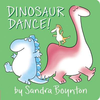 Dinosaur Dance board book by Sandra Boynton 1