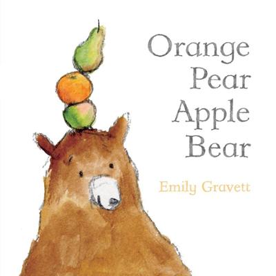 Orange Pear Apple Bear board book 1
