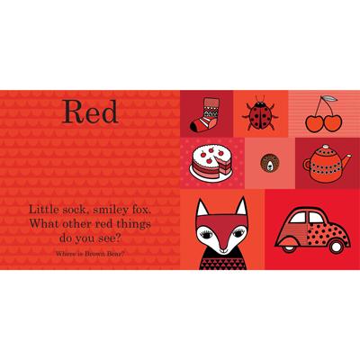 Brown Bear Color Book 2
