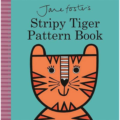 Stripy Tiger Pattern Book 1