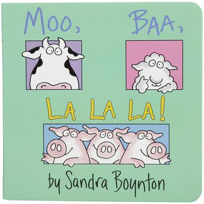 Moo, Baa, La! La! La! lap book 1