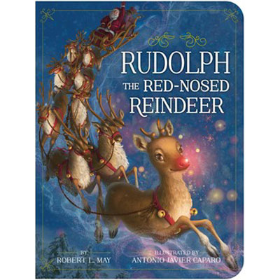 Rudolph The Red-Nosed Reindeer board book 1