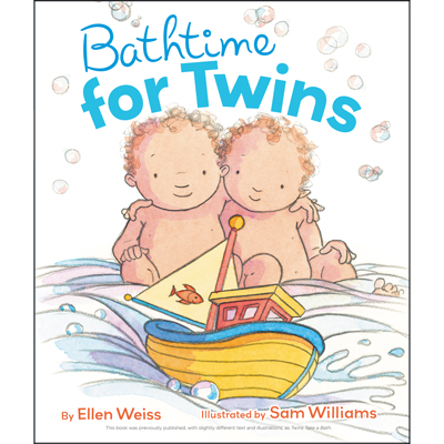 Bathtime for twins 1