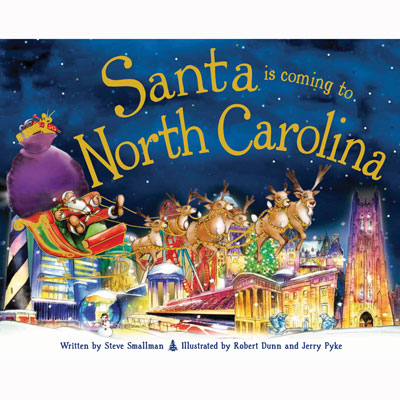 Santa Is Coming to North Carolina 1