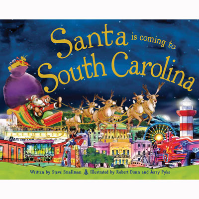 Santa is Coming to South Carolina 1