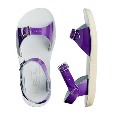 Sun San Surfer  Purple - Salt Walter Sandals 1