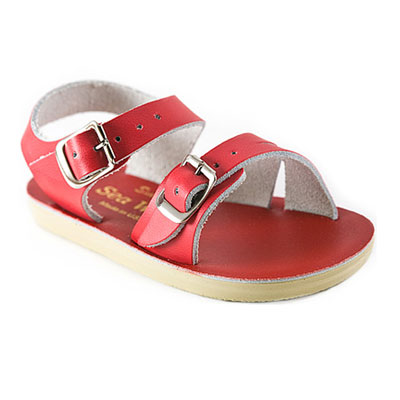 Sun San Surfer  Red - Salt Walter Sandals 1