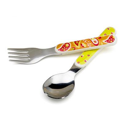 Paisley-Tea Party silverware set 1