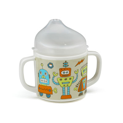 Robot Sippy Cup by Sugar Booger