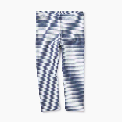Crown blue striped capri 1