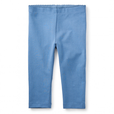 Moonlight solid capri leggings - 6 1