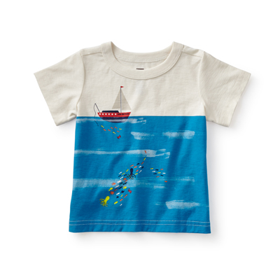 Catch and release tee - 3-6 months 1